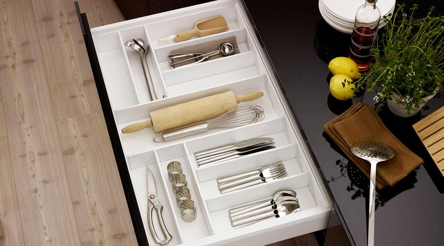 Conceito Intelligent Kitchens, da Hettich, explora layouts inteligentes para a cozinha