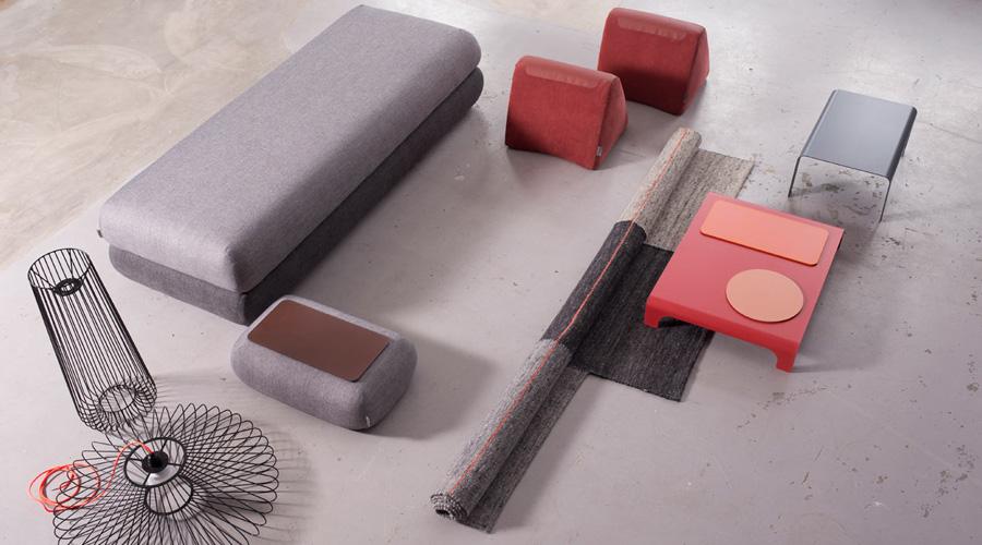 Pensando nessa tendência crescente dos nômades urbanos, a Hannabi projetou o Hyperactive Box – um sistema de sofá para pessoas que se deslocam frequentemente