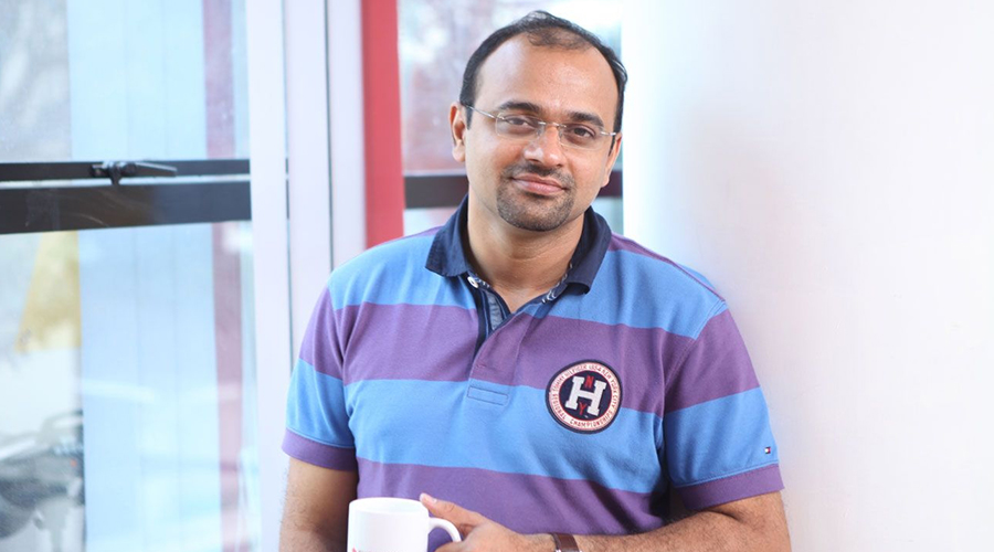 Ajith Karimpana, CEO e fundador da startup indiana Furlenco