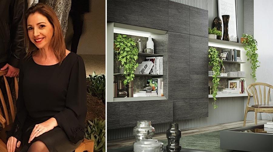 Grasiela Garbini Valezi, gerente do Studio Bontempo explica o conceito da nova coleção Inspirações & Percepções