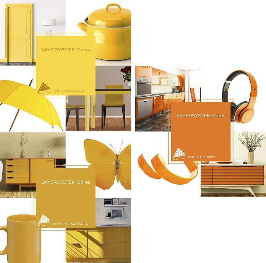 O amarelo é uma cor muito presente na moda e design, e também ganha força nos interiores para 2019