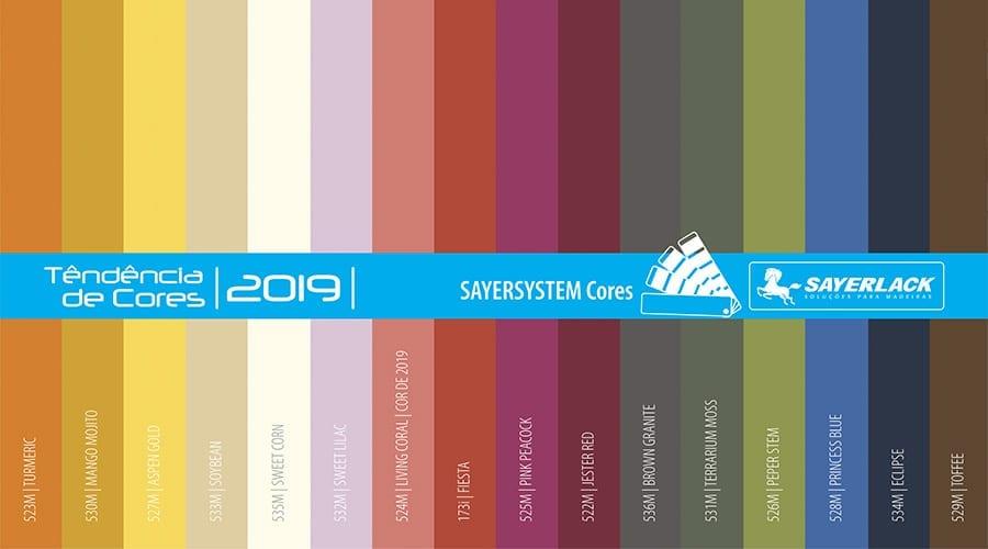 Tons terrosos, suaves, com toques de cinza ou ligados a temas naturais: 2019 traz uma nova gama de cores para os interiores. Escolha sua paleta