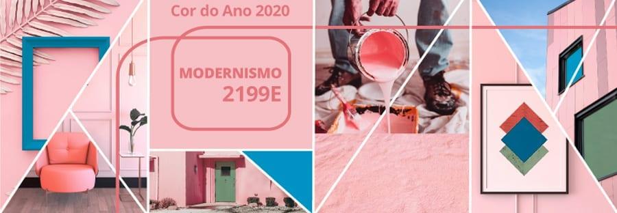 Modernismo (2199E) é a cor do ano da Tintas Eucatex para 2020